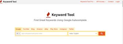 Keywordtool.io for  Digital Marketing