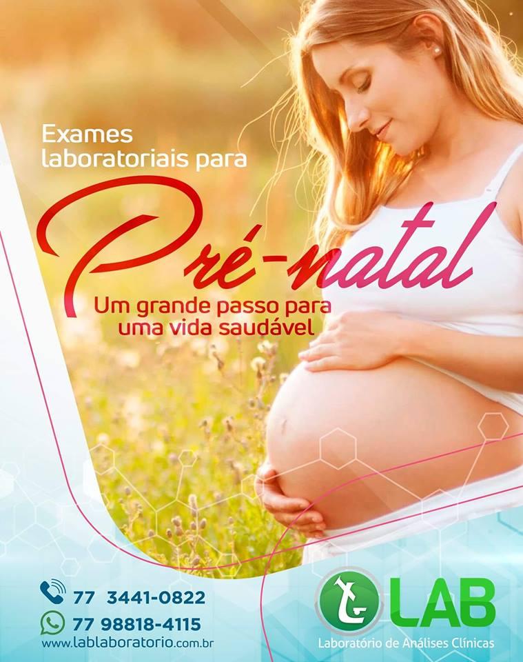 Saiba a importância dos exames laboratoriais no pré-natal