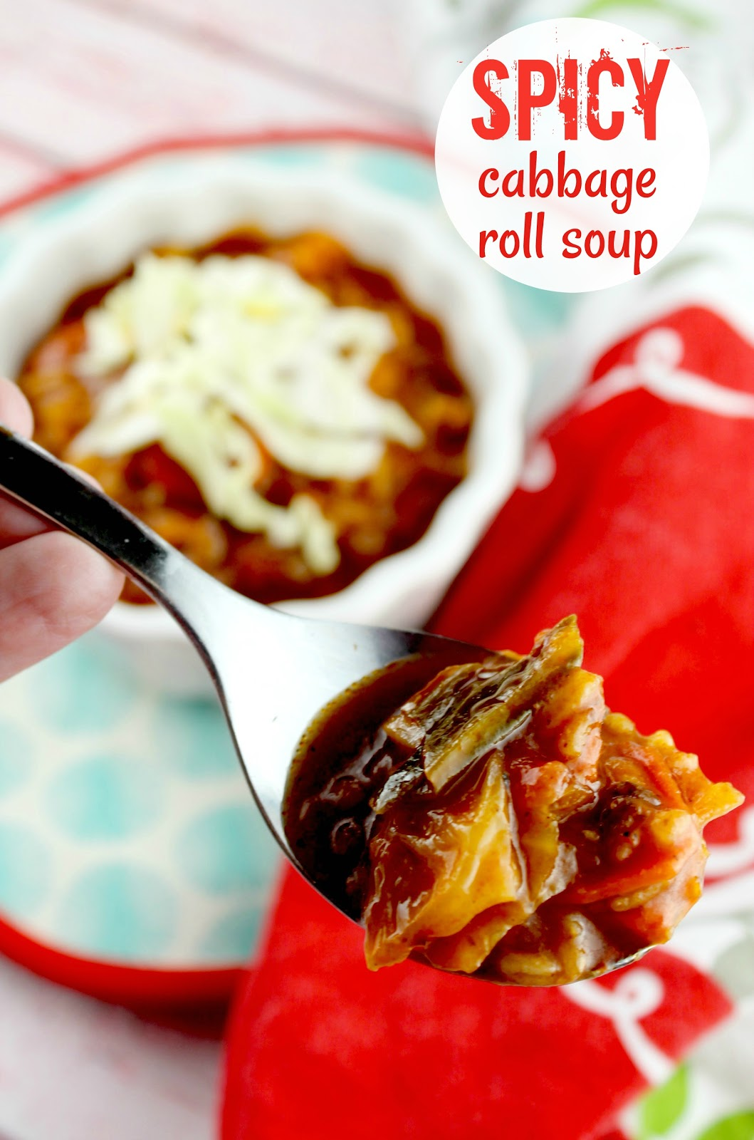 spicy cabbage roll soup