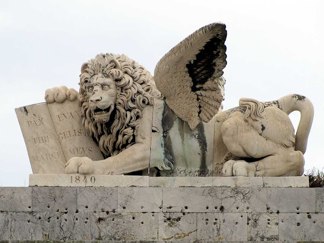Lion of Saint Mark, Saint Mark Gate, Livorno