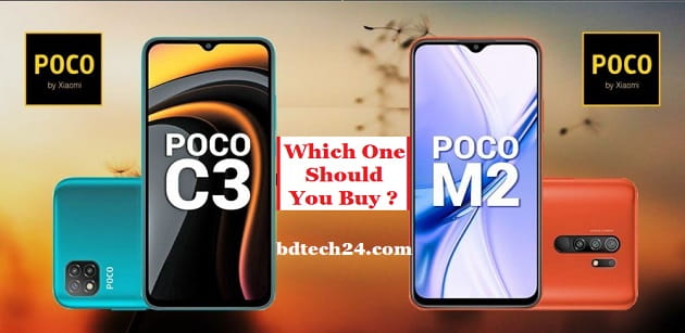 Poco C3 And Poco M2 Review