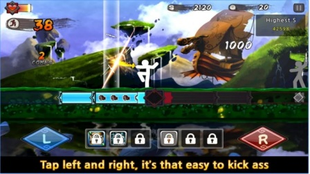 Game Action Offline Android Terbaik One Finger Death MOD APK