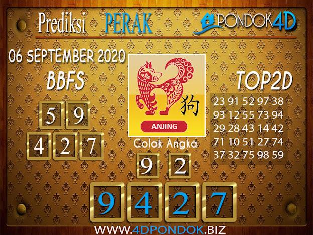 Prediksi Togel PERAK PONDOK4D 06 SEPTEMBER 2020