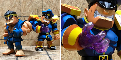 Designer Con 2019 Exclusive Street Fighter Ryu & M. Bison Bulkyz Vinyl Figures by BigBoysToys x ToyQube