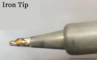periodically soldering iron tip not work well