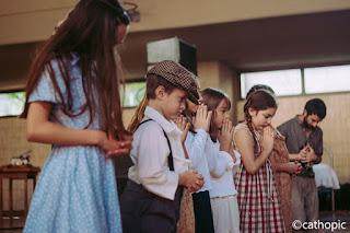 Il Signore ascolta le preghiere dei bambini