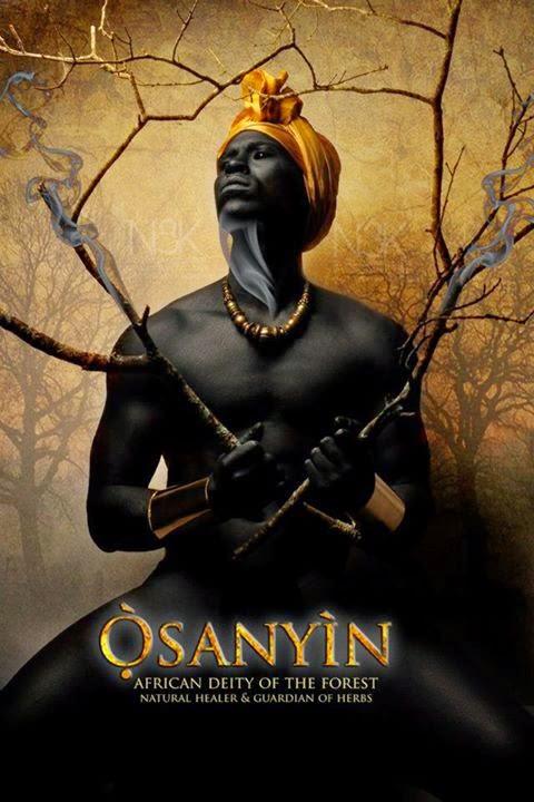 Yoruba Orishas: Osanyin, God of Plant-Life   beudeeful