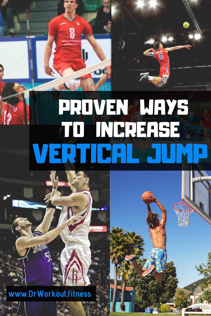 Ways to increase vertical jump