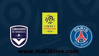 مشاهدة مباراة بوردو وباريس سان جيرمان اليوم 22-9-2019 في الدوري الفرنسي