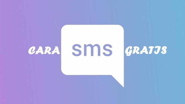 Trik Cara SMS Gratis Semua Operator 2018