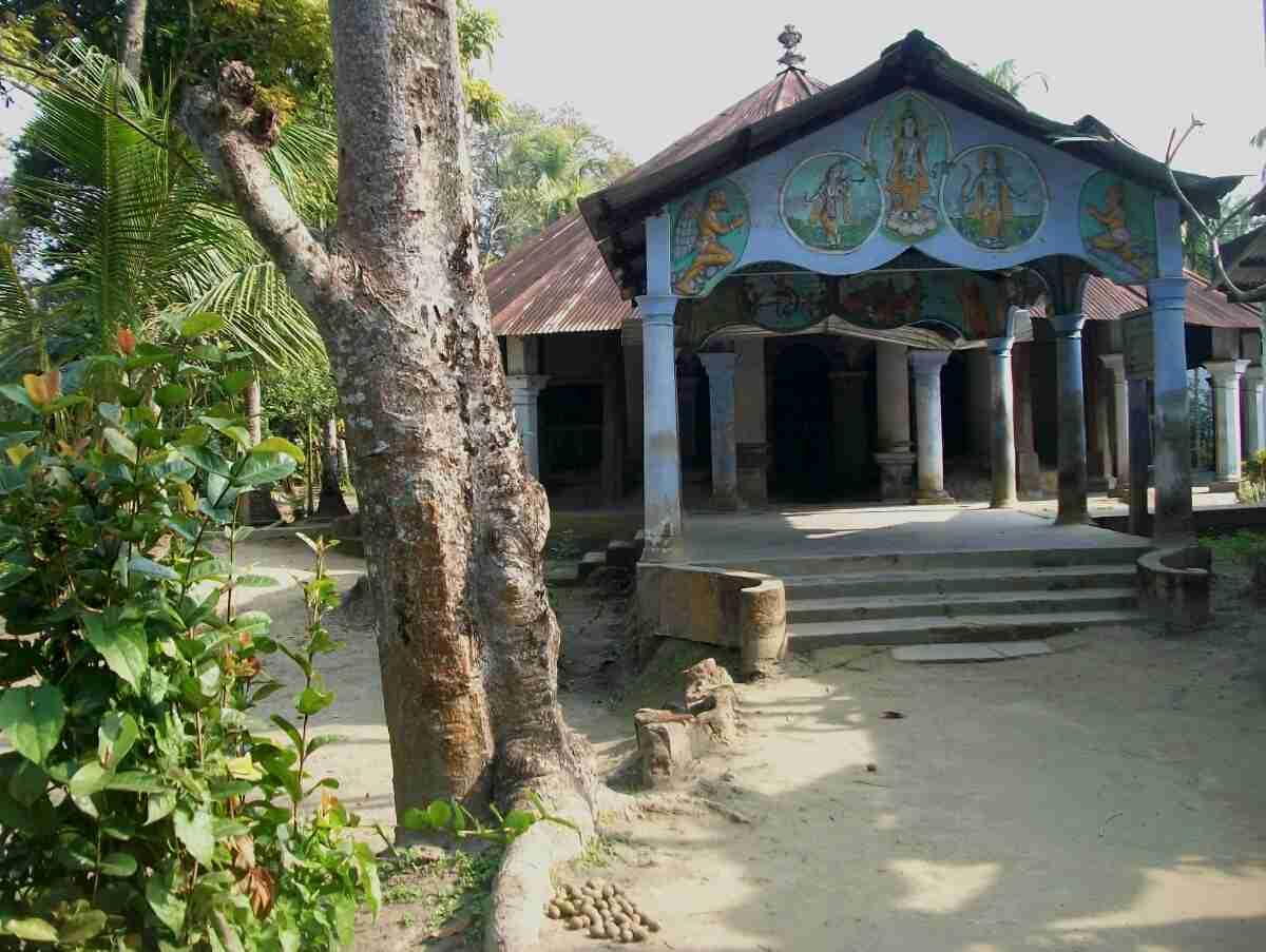 Natun Kamalabari Satra in Majuli