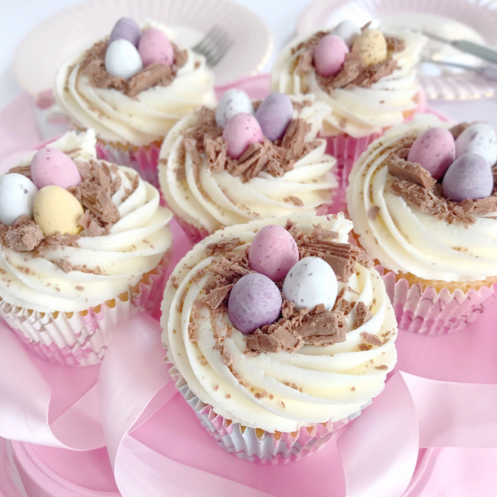 Mini Egg Easter Cupcakes | Love, Catherine