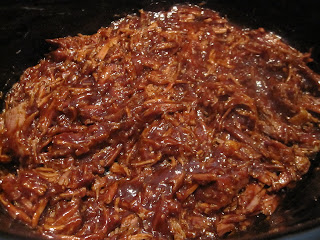 Sweet BBQ Beef sandwiches are delicious shredded beef with a sweet and savor BBQ flavor stuffed between two hamburger buns. Life-in-the-Lofthouse.com