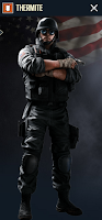 Portrait of Thermite - Rainbow Six Siege Operator