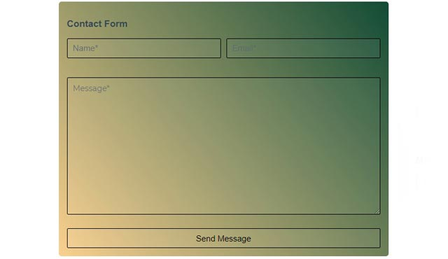 Flex Responsive - Contact Form Templates