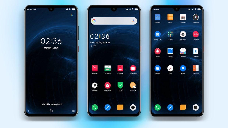 Best Dark Material MIUI Theme for All Xiaomi Phones