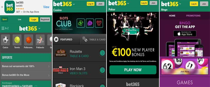 Betting Mobile Apps: Bet365 Mobile bonuses