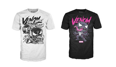 Venom Pop! Tees T-Shirts by Funko x Marvel