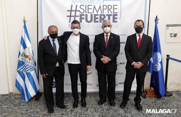 """Antonio Banderas: """"Queremos un Málaga en Primera lo antes posible"""""""