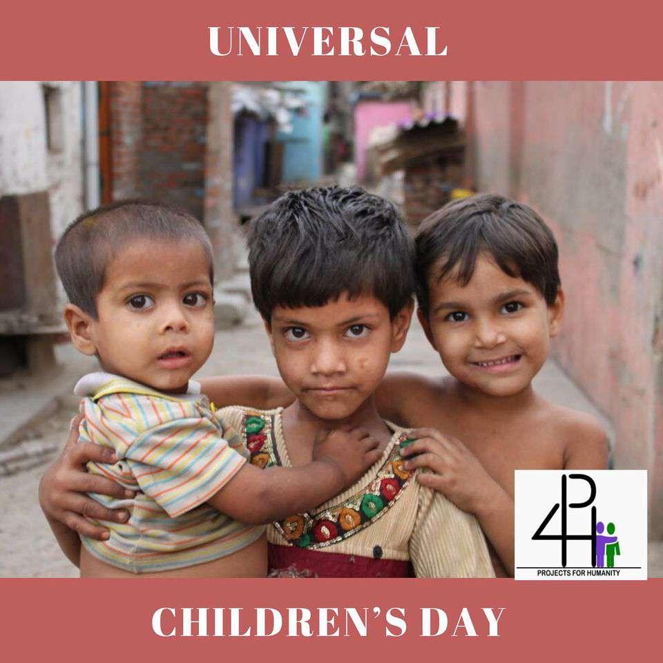 Universal Children's Day Wishes Photos