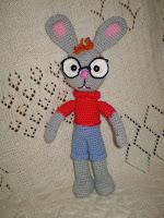 Кролик из мультфильма