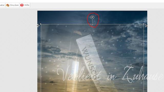 PhotoScape Anleitung und Schritt für Schritt mit Bilder-Tutorial: Objekt drehen