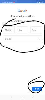 स्टेप 3:- यहां पर अपना जन्म तारीख डालें