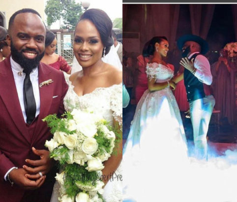 Popular Blogger Noble Igwe and wife celebrates 2nd Wedding Anniversary