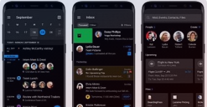 Renders Leaked تكشف عن المظهر المظلم لـ Microsoft Outlook لأجهزة iPhone و Android
