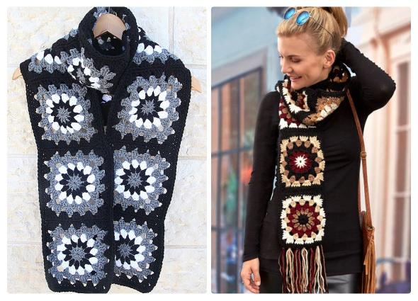 grannys composición, cuadraditos abuela, patrones crochet