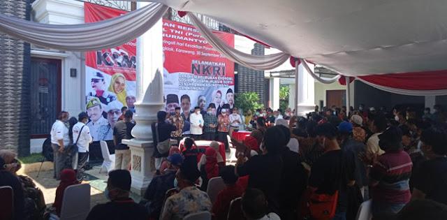 Batal Hadiri Deklarasi KAMI Rengasdengklok, Gatot Hanya Pidato di Kediaman Daday Hudaya