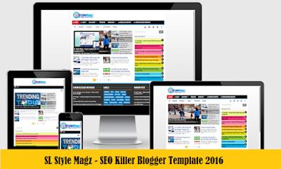 SL Style Magz - Template Blogger SEO Responsive Premium Terbaik dan Keren