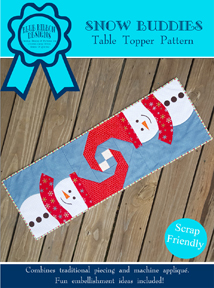 Snow Buddies Table Runner (BRDQ-002)