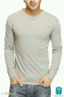 Men's  Drapey Cotton T-Shirts
