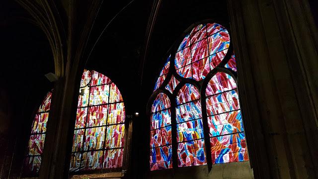 Les vitraux de Jean Bazaine à Saint Séverin