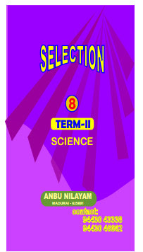 8th Std - Term 2  -  Science - SELECTION GUIDE Tamil And English Medium Download !!