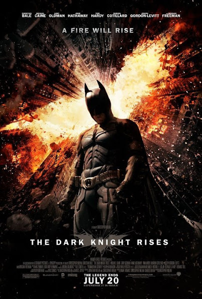 Poster of Batman 3 The Dark Knight Rises 2012 Dual Audio 720p BluRay ESubs Download