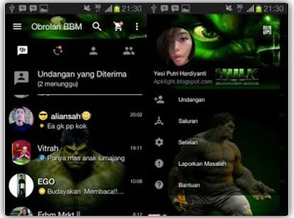 BBM Mod Hulk V2.13.1.14 Apk