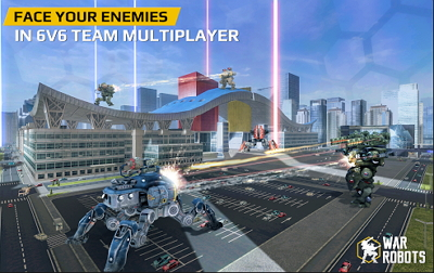 Walking War Robots APK DATA MOD Unlimited Ammo