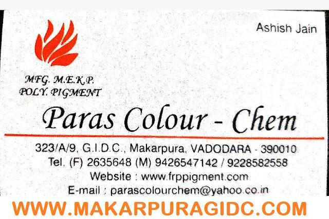PARAS COLOUR CHEM - 9426547142