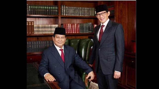 Analisis Sosiologis: Prabowo - Sandi akan Memenangkan Pilpres 2019