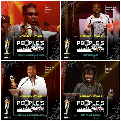 People's Celebrity Awards Winners To Receive Prizes On February 28