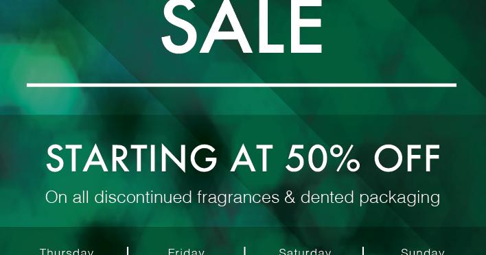 The ASCO Annual Fine Fragrance SALE - March 2018 - Sandton, JHB
