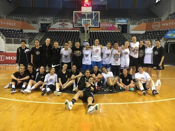 Επιτυχημένο προπονητικό πρόγραμμα επιλογής αθλητριών από τον ΠΑΟΚ-Φωτορεπορτάζ
