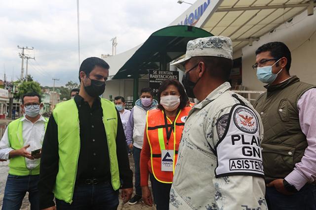 Centros de acopio de CONCANACO reciben ayuda para población afectada por inundaciones