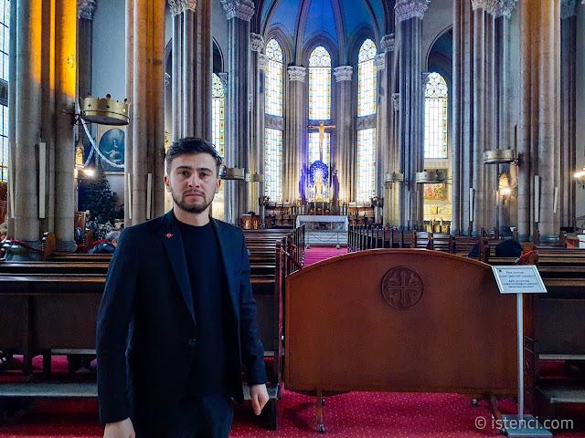 İstanbul'un En Büyük Kilisesi: Sent Antuan Kilisesi Harun İstenci tarafından ziyaret edildi.