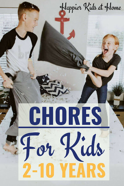 Household Chores For Kids - (2-10 years)