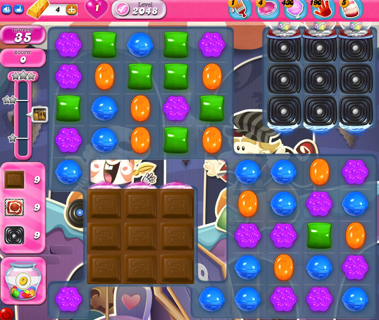 Candy Crush Saga 2048