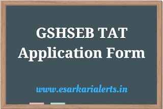 GSHSEB TAT Application Form 2017