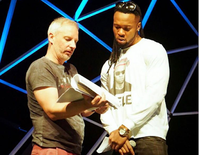 Flavour rehearse ahead of event #GloCAFAwards